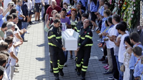 State funeral held for Italy's earthquake victims