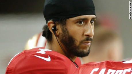 I was on board with Kaepernick until....