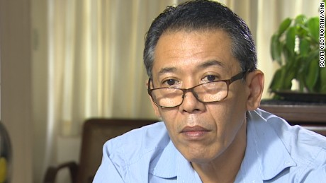 "Human rights lawyer Jose Manuel ""Chel"" Diokno."