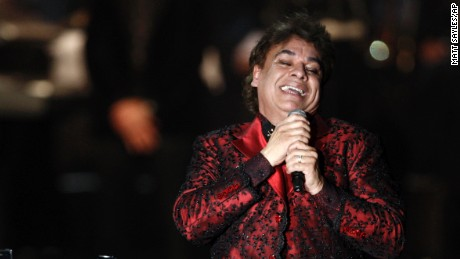 Juan Gabriel performs at the Latin Recording Academy Person of The Year event in his honor in Las Vegas on November 4, 2009.