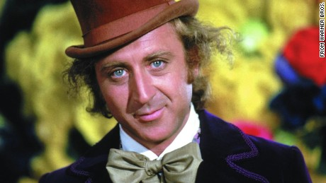 Actor Gene Wilder as Willy Wonka in Willy Wonka & the Chocolate Factory.
