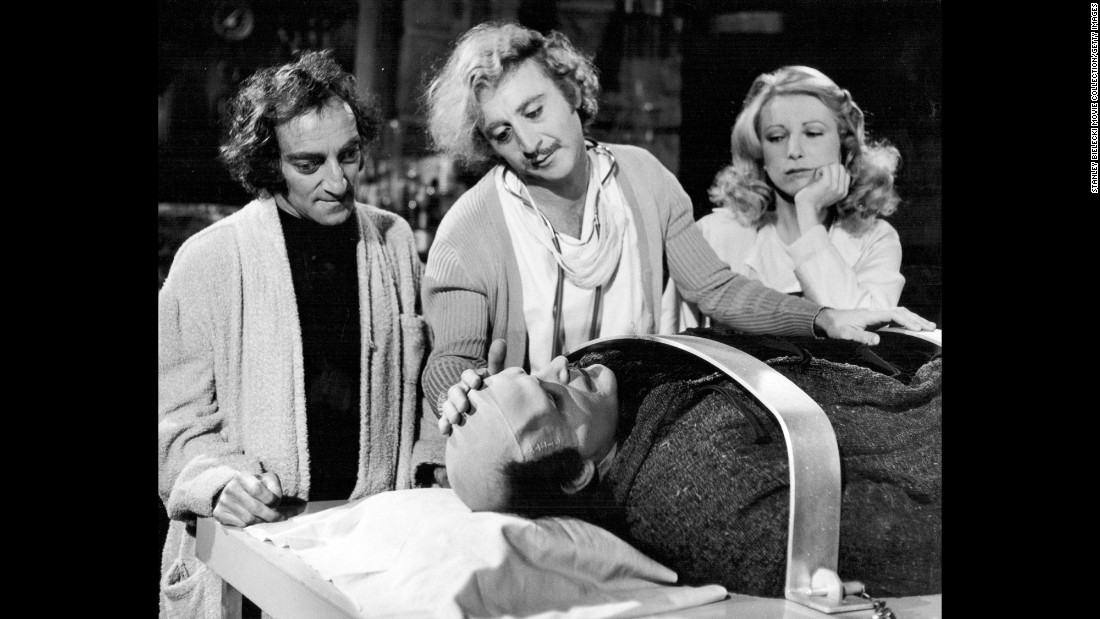 "Another Brooks-directed film, ""Young Frankenstein,"" became one of Wilder's most famous. Wilder played Dr. Frederick Frankenstein, grandson of the legendary Dr. Victor Frankenstein, in a parody of classic horror movies."