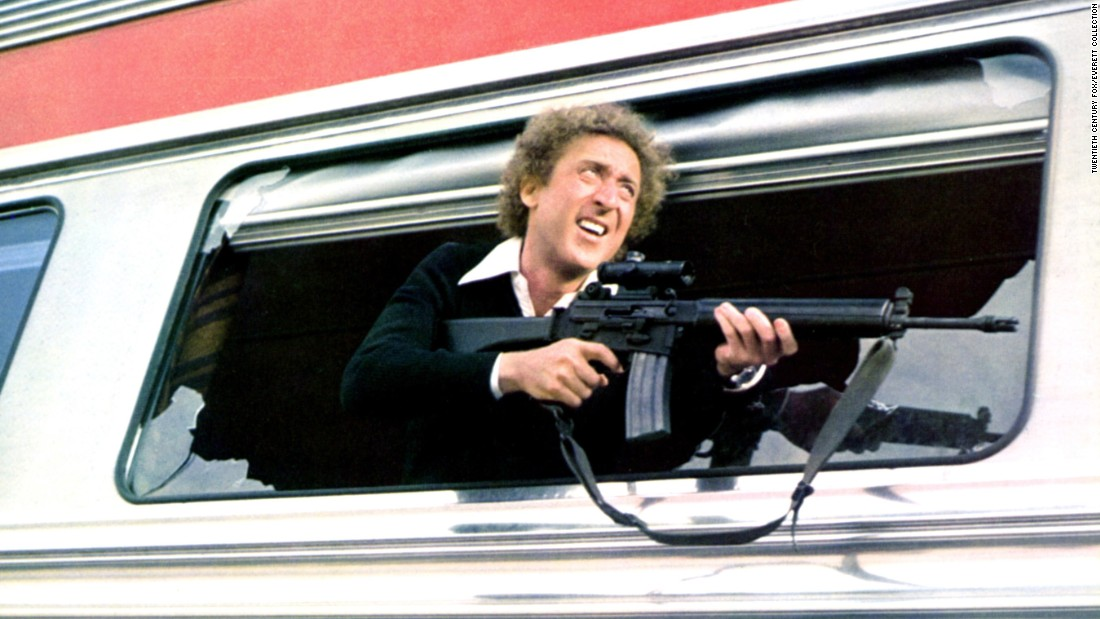 "Wilder in the 1976 film ""Silver Streak."""