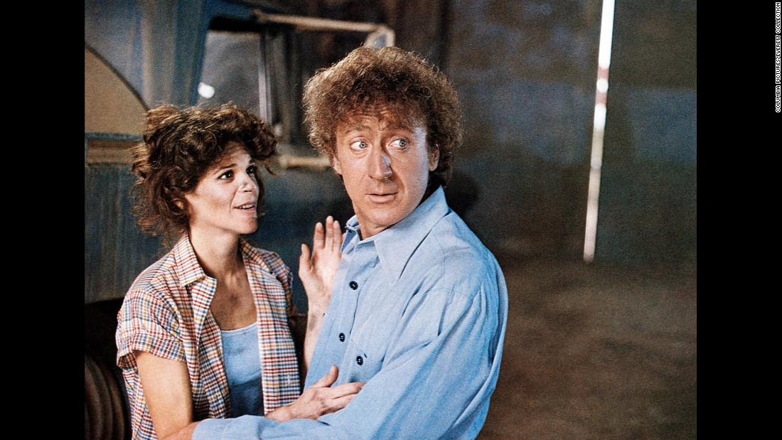 "Gilda Radnor stars with Wilder in 1982's ""Hanky Panky."" The two married in 1984 and remained together until her death in 1989."