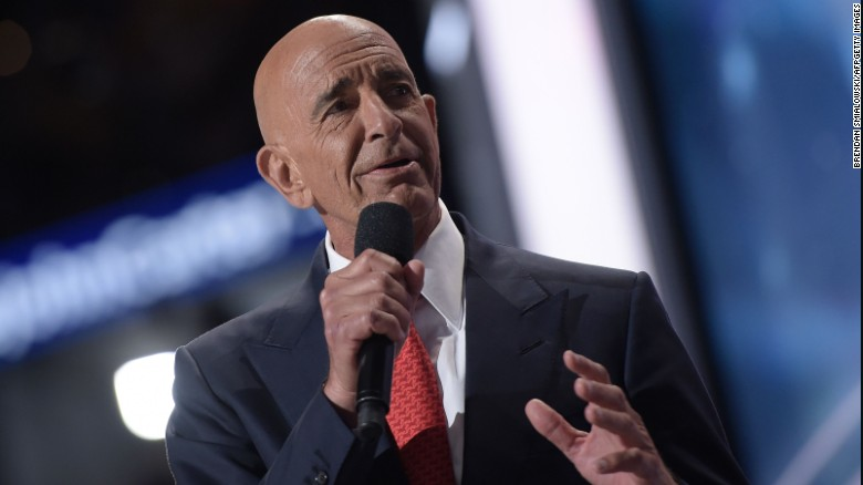 Tom Barrack Jr: Don't want to hear Trump talk on Weiner