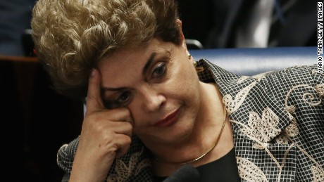 Brazil's Senate ousts Dilma Rousseff in impeachment vote