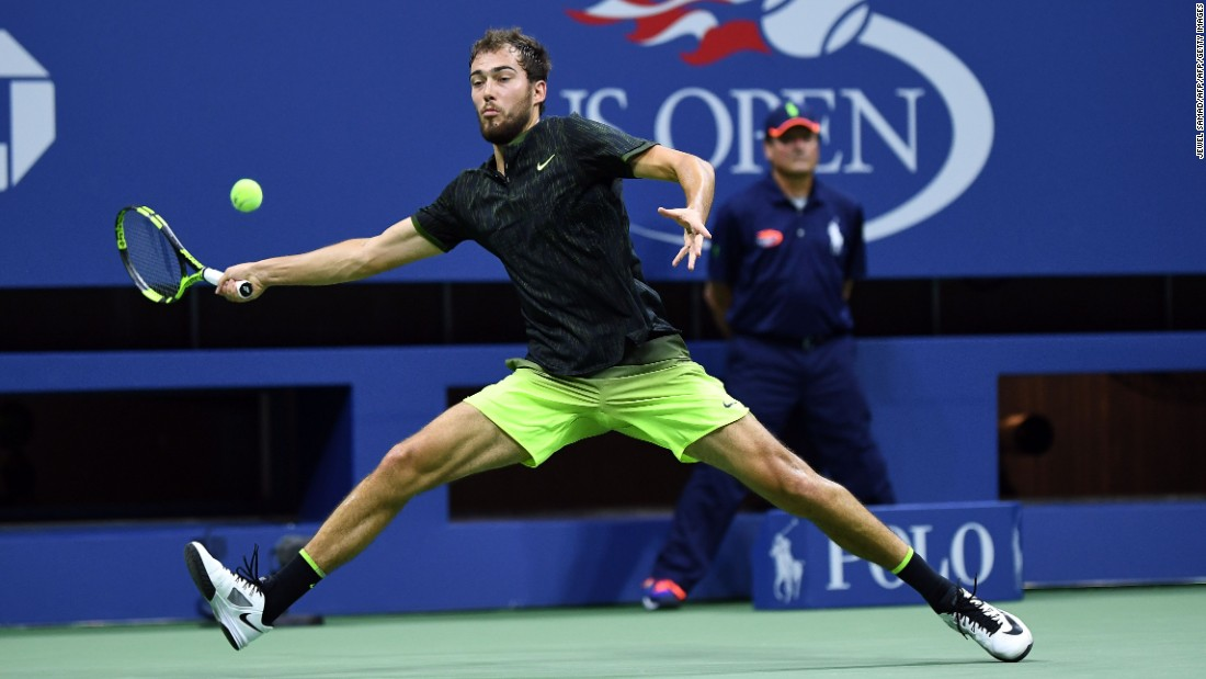 Janowicz, the world No. 247, pushed the defending champion hard, taking the second set after Djokovic was forced to call for the physio in the first set.