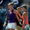 Polona Hercog Angelique Kerber US OPen