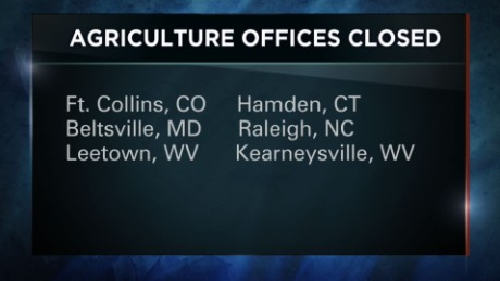USDA closes six offices after threats