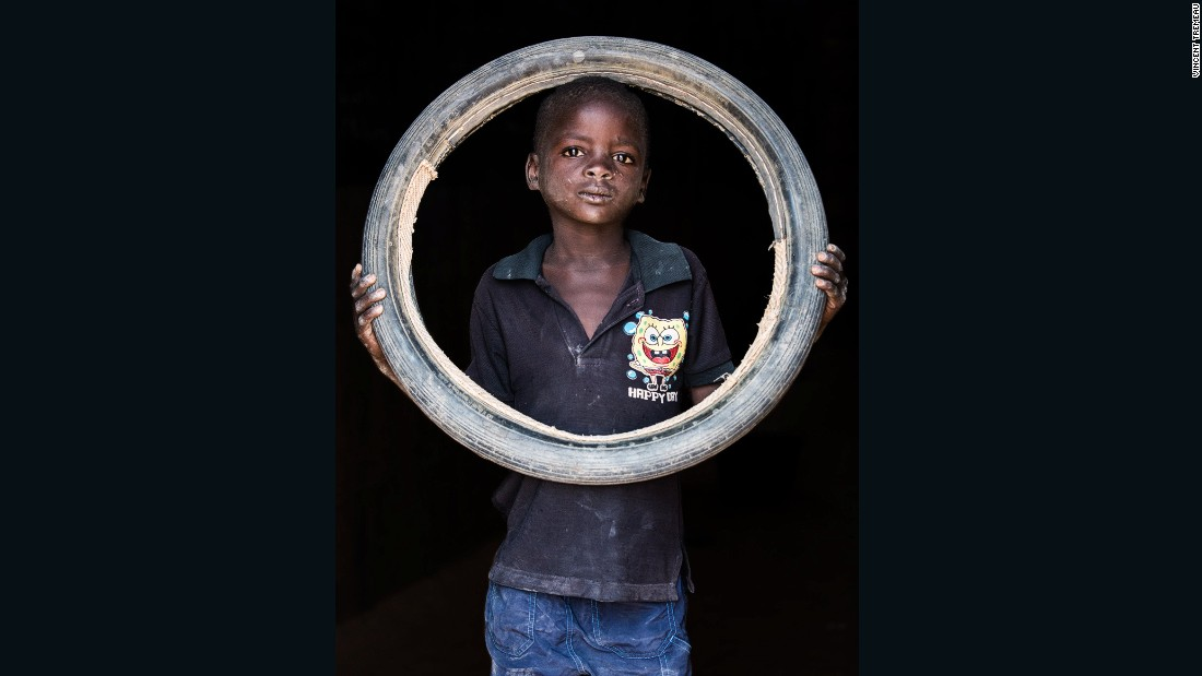 "Habou Lamirou (Driver), Niger. ""I want to be a driver so I can help my parents."""