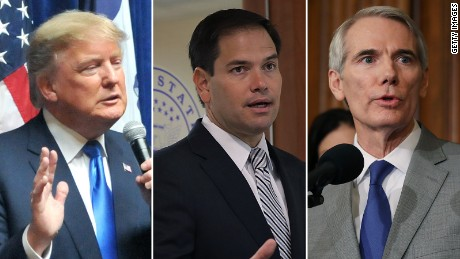 Could Donald Trump ride GOP senators' coattails?