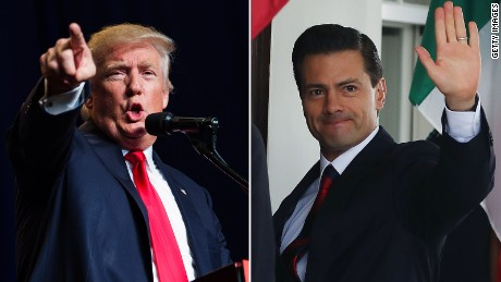 Trump to meet with Mexico's president