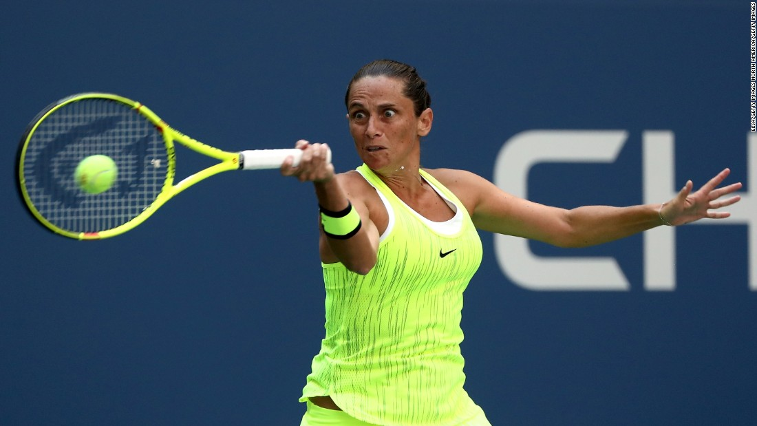 Last year's finalist, Roberta Vinci, moved into the third round by getting past Christina McHale 6-1 6-3.
