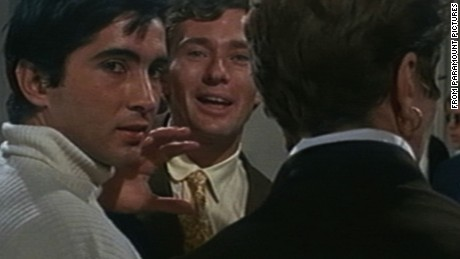 "The guru known as ""Michel,"" left, in the 1968 film ""Rosemary's Baby."""