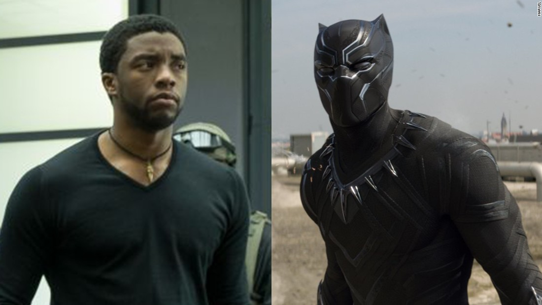 "Black Panther is a hereditary title inherited by the prince and ruler of Wakanda, an African nation and its Panther tribe. We meet T'Challa, the current Black Panther, when his father is killed in a bombing in the 2016 film ""Captain America: Civil War."" His full-body suit, complete with retractable claws, is made of bullet-deflecting vibranium weave."