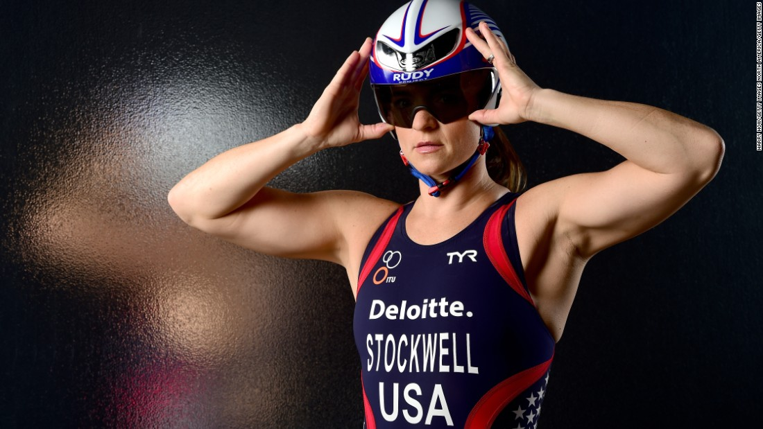 Melissa Stockwell was the first female American solider to lose a limb in active combat during the Iraq War.  She is aiming to become the first Paralympic triathlon champion as the sport makes its debut in Rio.