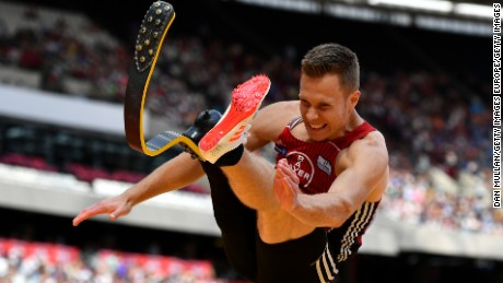 Markus Rehm has jumped 8.40m -- a distance able-bodied long jumpers rarely exceed.