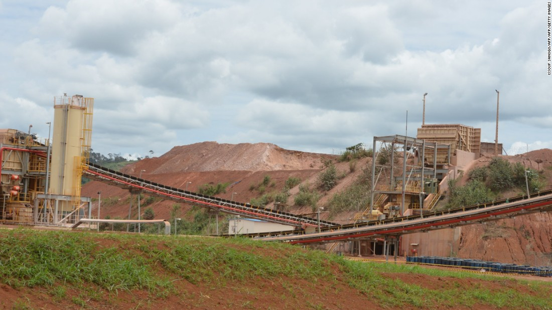 Annual production at the Agbaou plant is approximately three tons, making it one of the most lucrative mines in the country.