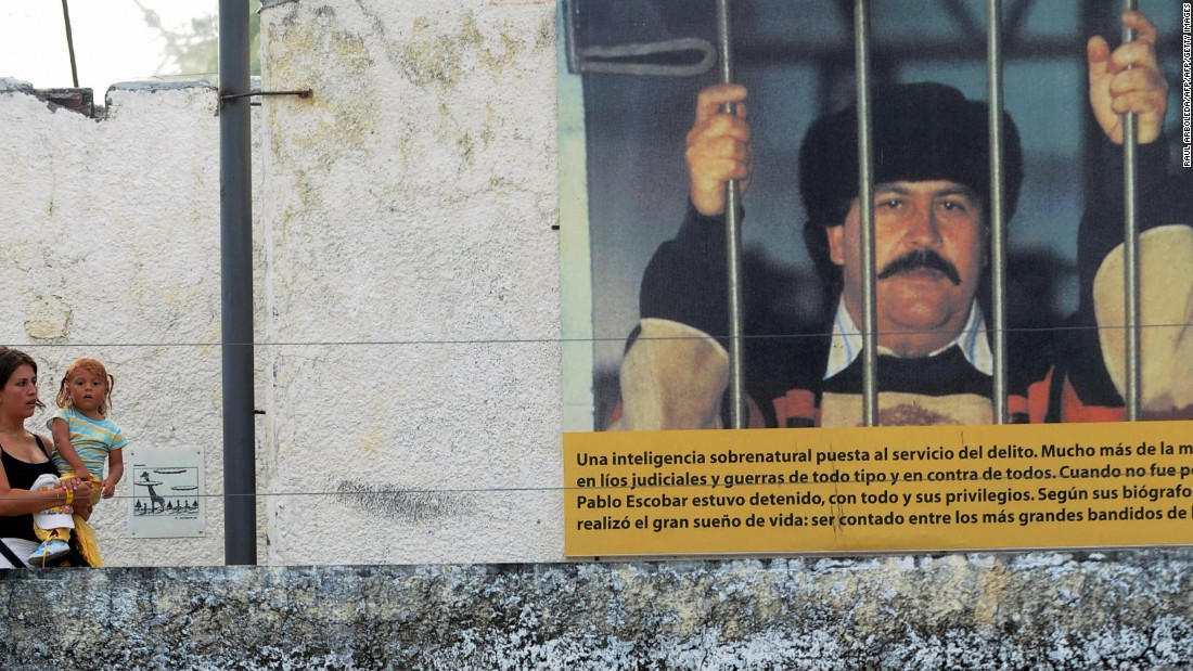 The house featured exhibits about the life of Escobar, who built a multibillion-dollar empire dealing cocaine. Along the way, he ordered the deaths of thousands of people, among them politicians, judges, journalists and rival traffickers.