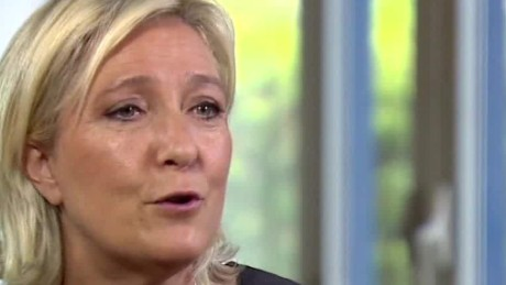 Marine Le Pen 'Anything is better than Hillary Clinton'