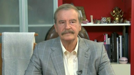 Vincente Fox Donald Trump absolutely crazy newday_00000000