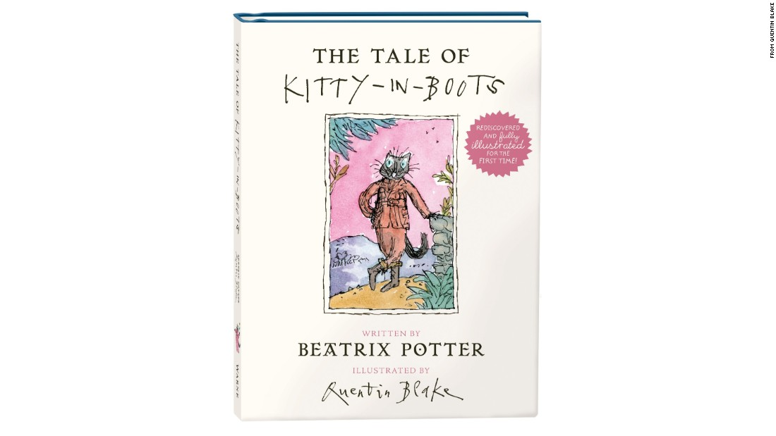 """The Tale of Kitty-in-Boots,"" a Beatrix Potter story found in a museum more than 100 years after it was written, is being published for the first time. 2016 marks the 150th anniversary of the birth of Potter, best known for her books featuring the Peter Rabbit character."