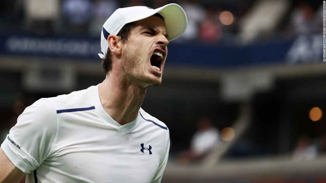 Andy Murray followed and also advanced in straight sets. But the second seed was tested by Spain's Marcel Granollers.