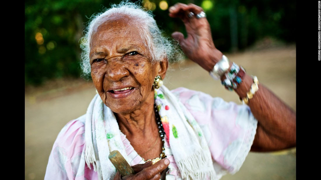 The Blue Zones is the name given to the five world regions celebrated for the health and longevity of their populations. Second on the list is Nicoya peninsula in Costa Rica, where this 101-year-old woman hails from.