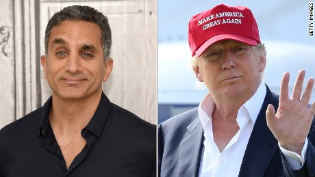 Bassem Youssef slams Trump's 'dehumanization' of Syrian refugees