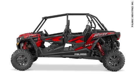 The 2016 RZR XP 4 Turbo is one of the recalled models.
