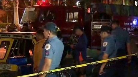 PHILIPPINES: DAVAO CITY EXPLOSION AFTERMATH