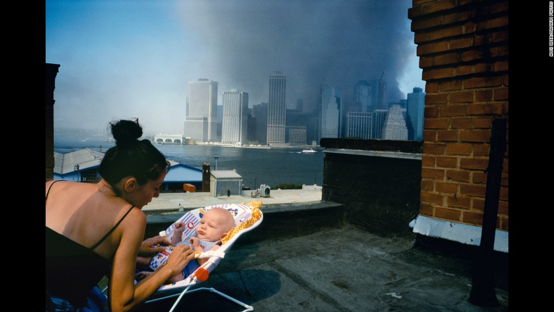 9/11 images are seared into the memories of Magnum photographers
