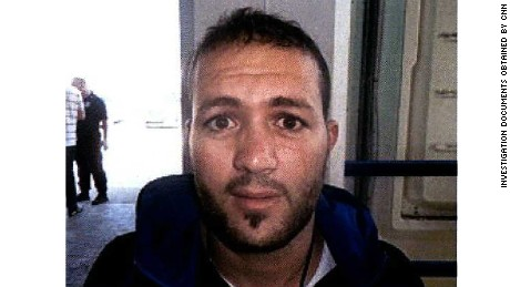Algerian-born Adel Haddadi is a suspected ISIS operative.
