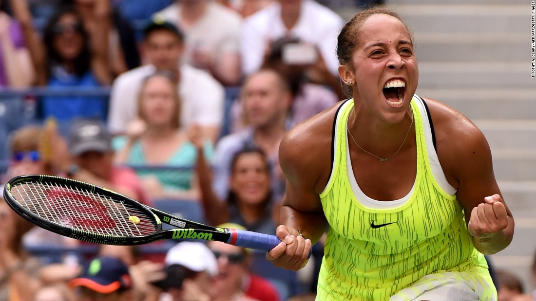 Comeback of the day went to Madison Keys. She trailed 5-1 in the third before defeating Naomi Osaka 7-5 4-6 7-6 (7-3).