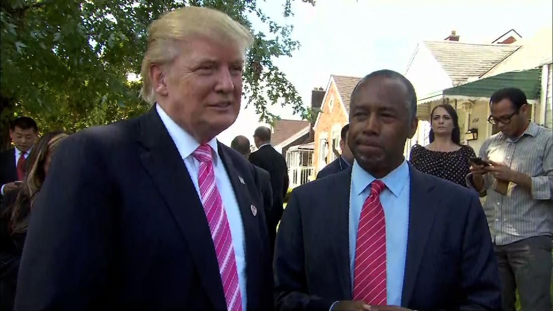 Ben Carson tapped by Trump for HUD secretary - CNNPolitics