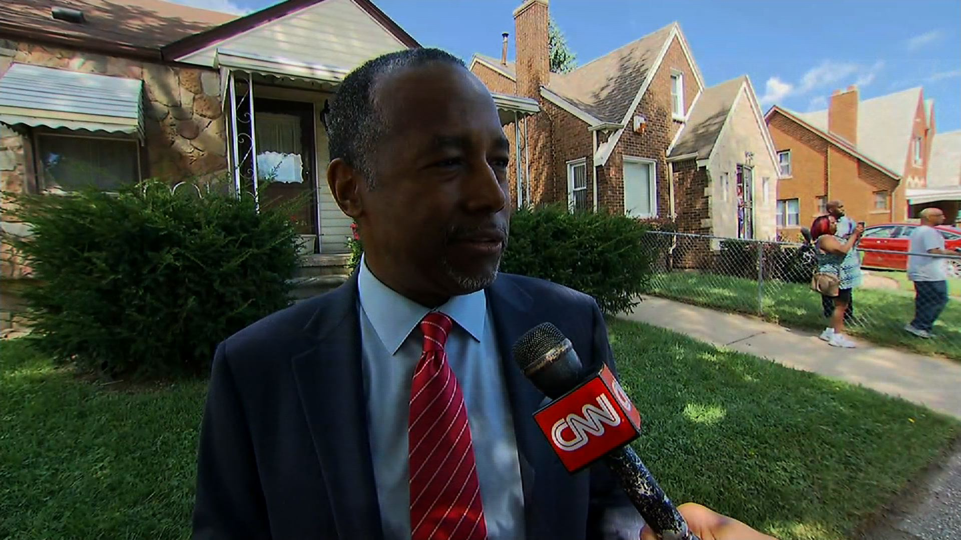 Ben Carson on Trumps outreach Part 1 CNN Video
