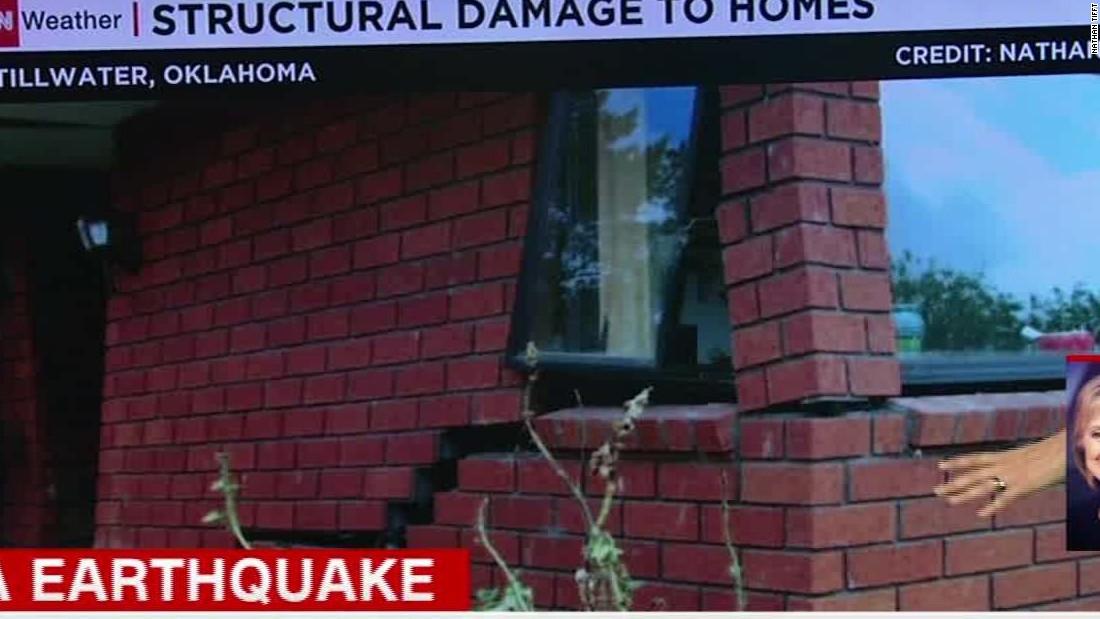 Earthquake rattles Oklahoma, six neighboring states
