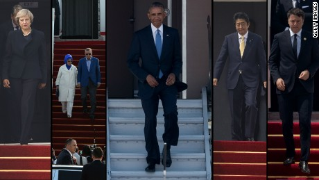 Obama denied the red carpet welcome in Hangzhou, China that other world leaders received.