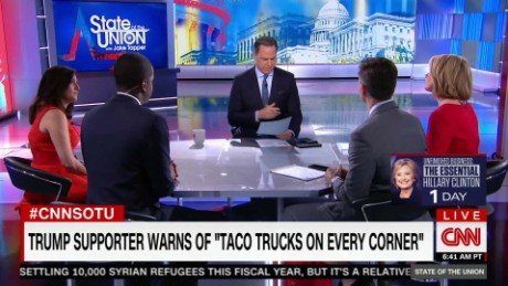 Latino Trump supporter warns 'taco trucks on every corner'