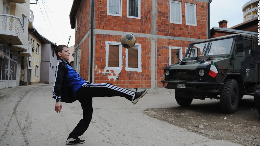 In Kosovo, sport has become entangled in its political past. In 2008, it declared independence from Serbia, which still does not recognize it as a country -- nor does Russia or several EU members such as Spain -- but over 100 nations including the US have accepted it.