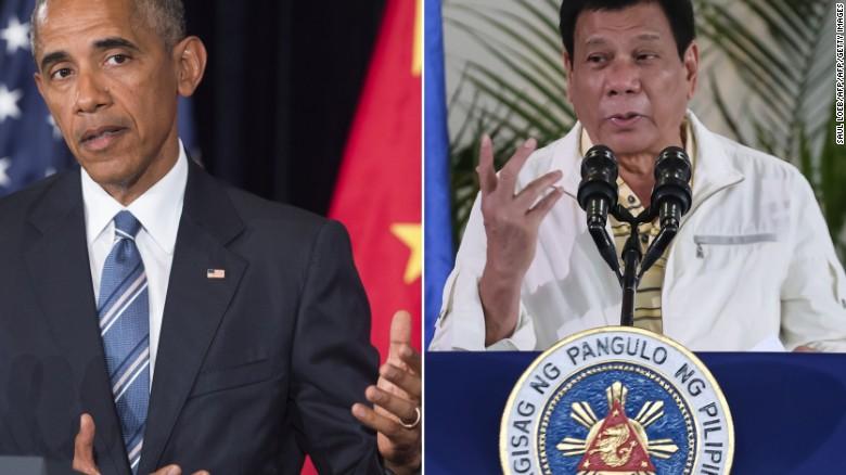 Philippines' Duterte 'deliberately' avoided Obama at summit