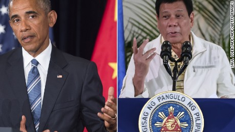 Philippines' Duterte 'deliberately' avoided Obama at summit