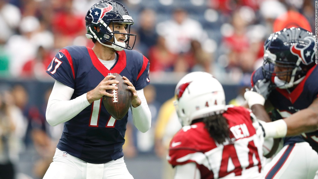 Brock Osweiler has endured a bumpy road on his way back to Denver. Peyton Manning's former understudy experienced a difficult 2016 spell at Texas (15 TDs, 16 INTs) before being traded to Cleveland and subsequently released. The former Arizona State standout was 5-2 as a starter in Denver filling in for Manning, and Broncos fans hope he can restore some of that magic this season.