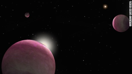 Three giant exoplanets found orbiting twin stars