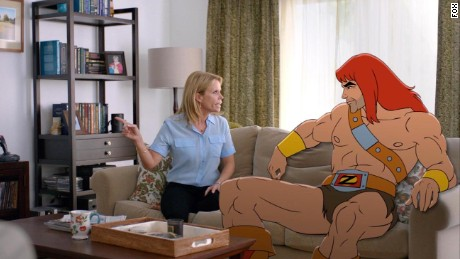 """Son of Zorn"" is a new hybrid live action and animated series on Fox."