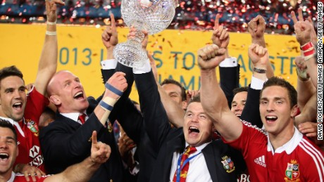 The Lions beat Australia under Gatland's guidance in the 2013 series Down Under.