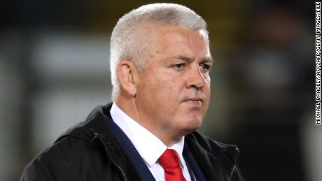 Gatland was unable to end Wales' 63-year losing streak against New Zealand in June's series.