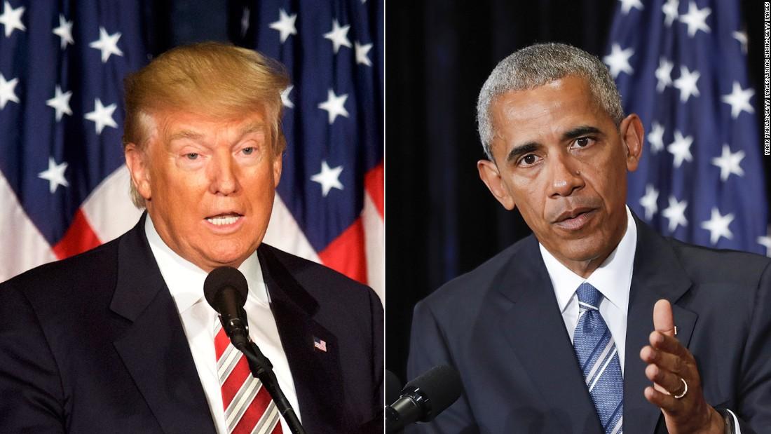 Reality Check: Trump's wild misrepresentation of Obama's response to a protester