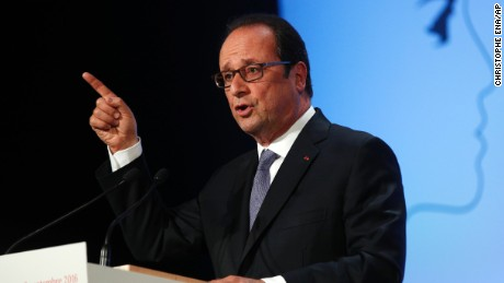 Hollande: Republic must create 'Islam of France' to respond to terror threat