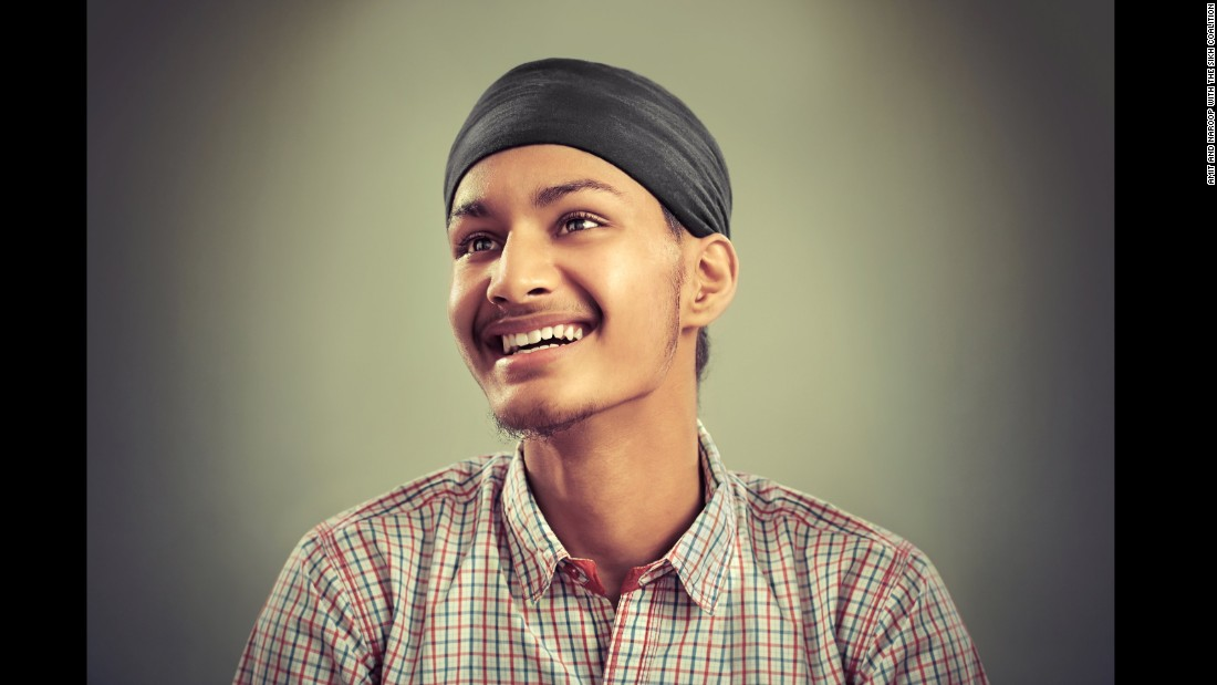 Harmandeep Singh, a high school senior in New York, arrived from India in 2014.